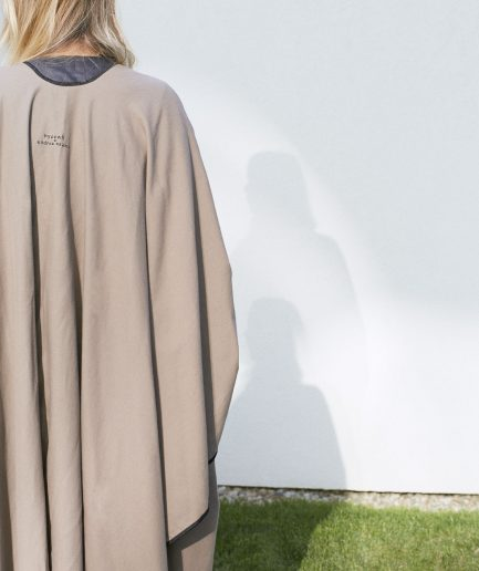 Soft-wool cape