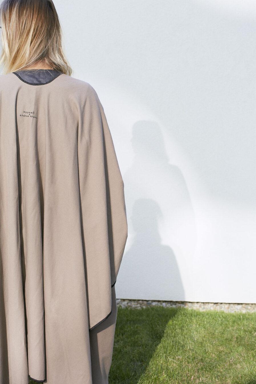 Soft-wool cape
